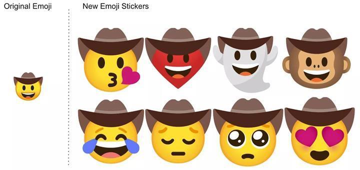 Google'ın klavye uygulamasına Emoji Mutfağı özelliği eklendi