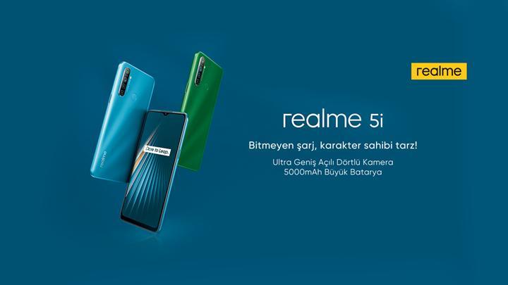 Realme 5i Türkiye'de satışta! Realme 5i özellikleri ve fiyatı