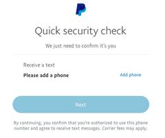 Paypal Telefon