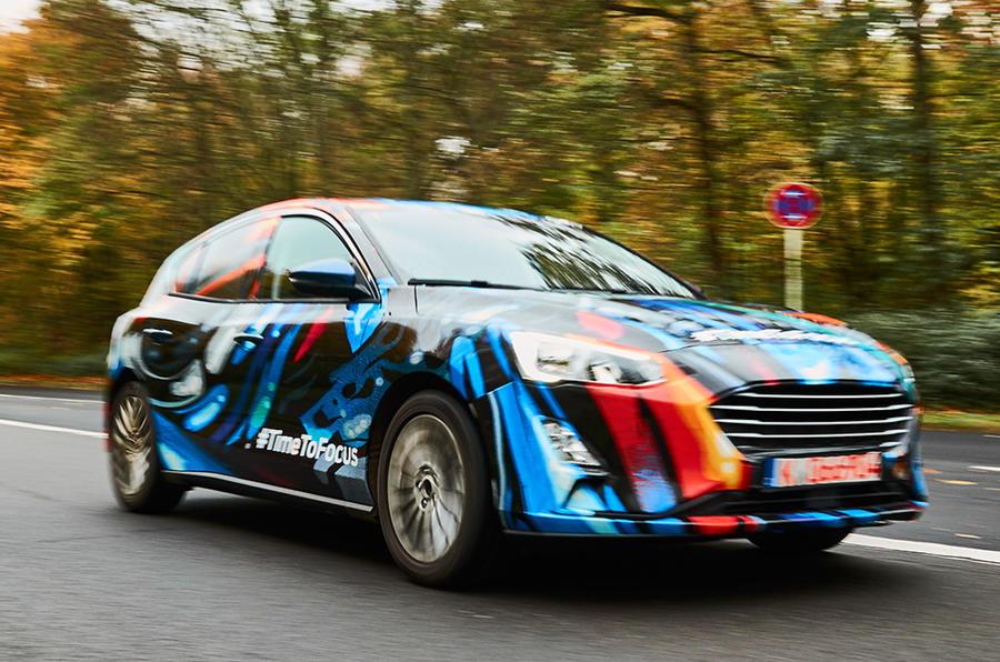 2018 Ford Focus kamuflajsız olarak göründü