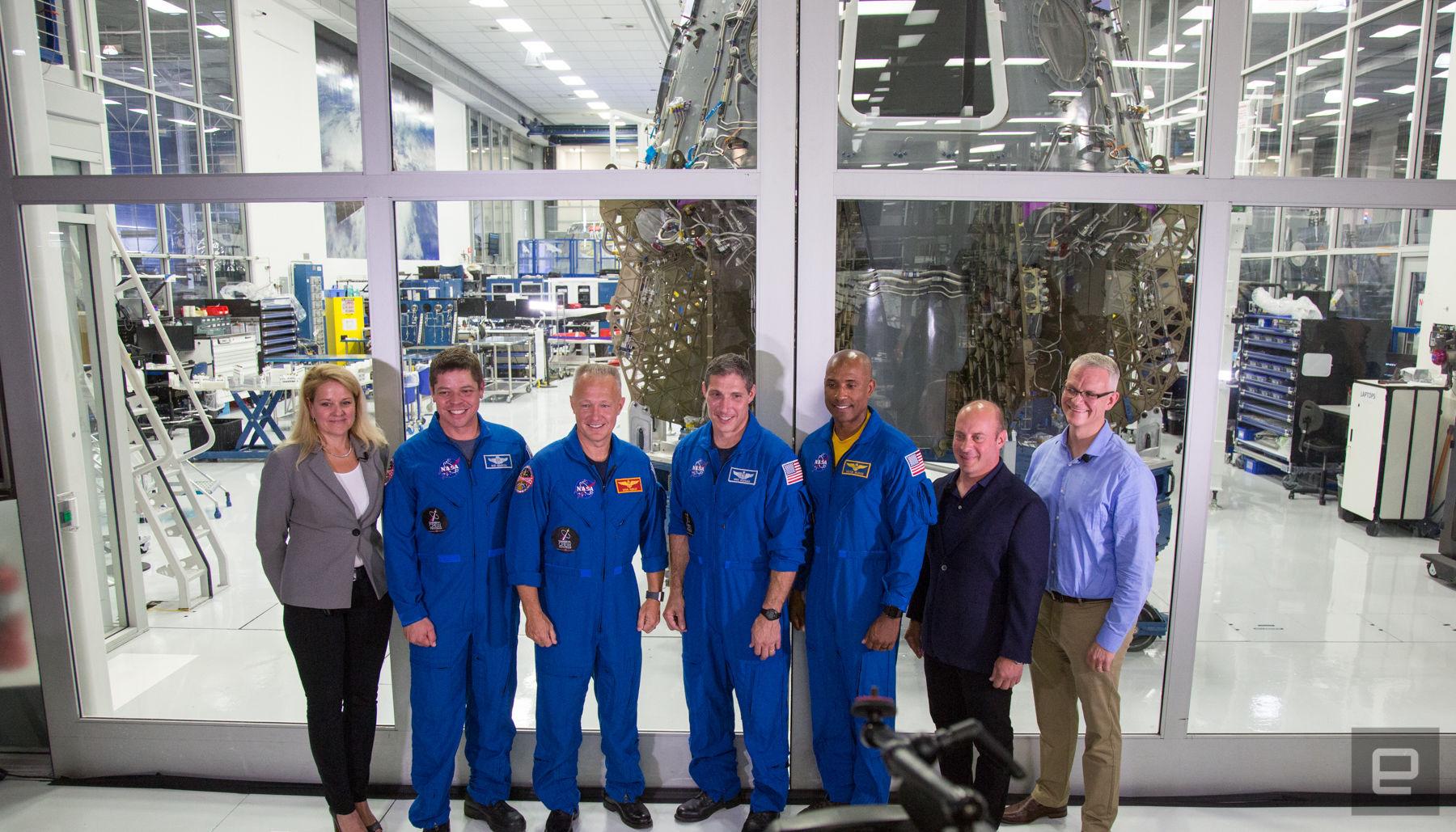 Crew Dragon uzay kapsülü