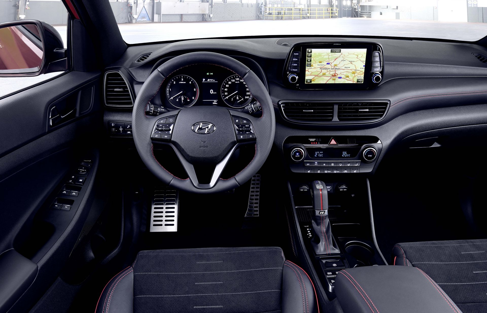 Hyundai Tucson N Line, hibrit motor seçenekleriyle tanıtıldı