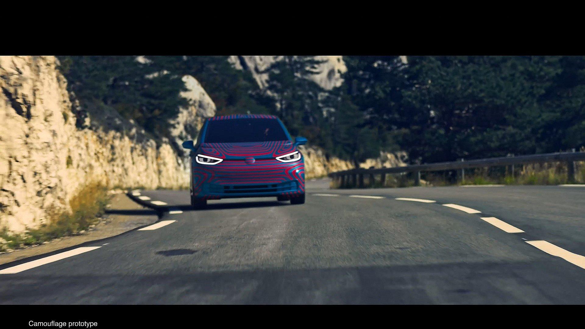 Elektrikli Volkswagen ID.3'ün yeni görüntüleri ortaya çıktı