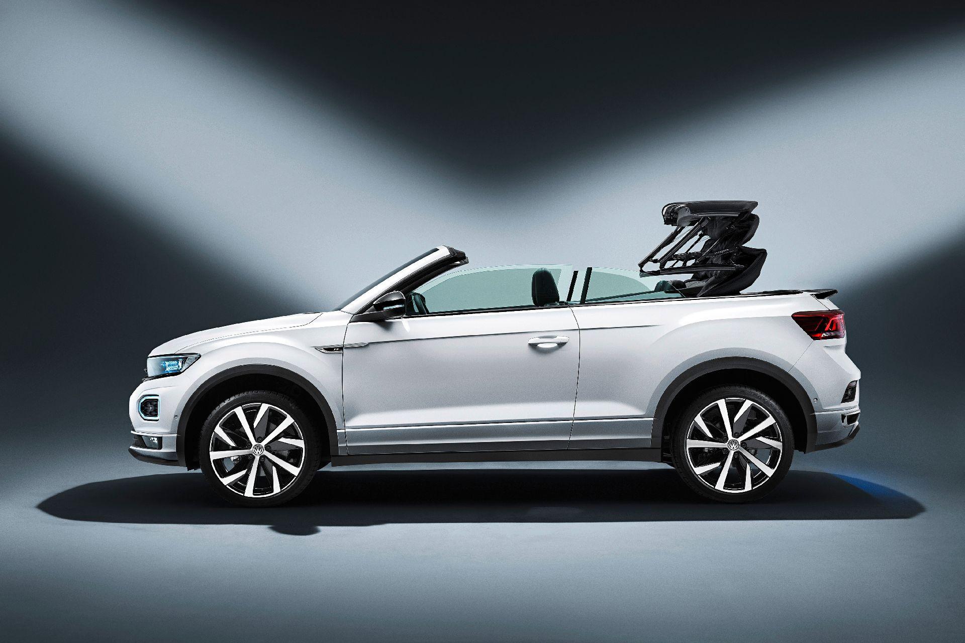 Volkswagen'den üstü açılabilen crossover: T-Roc Cabriolet