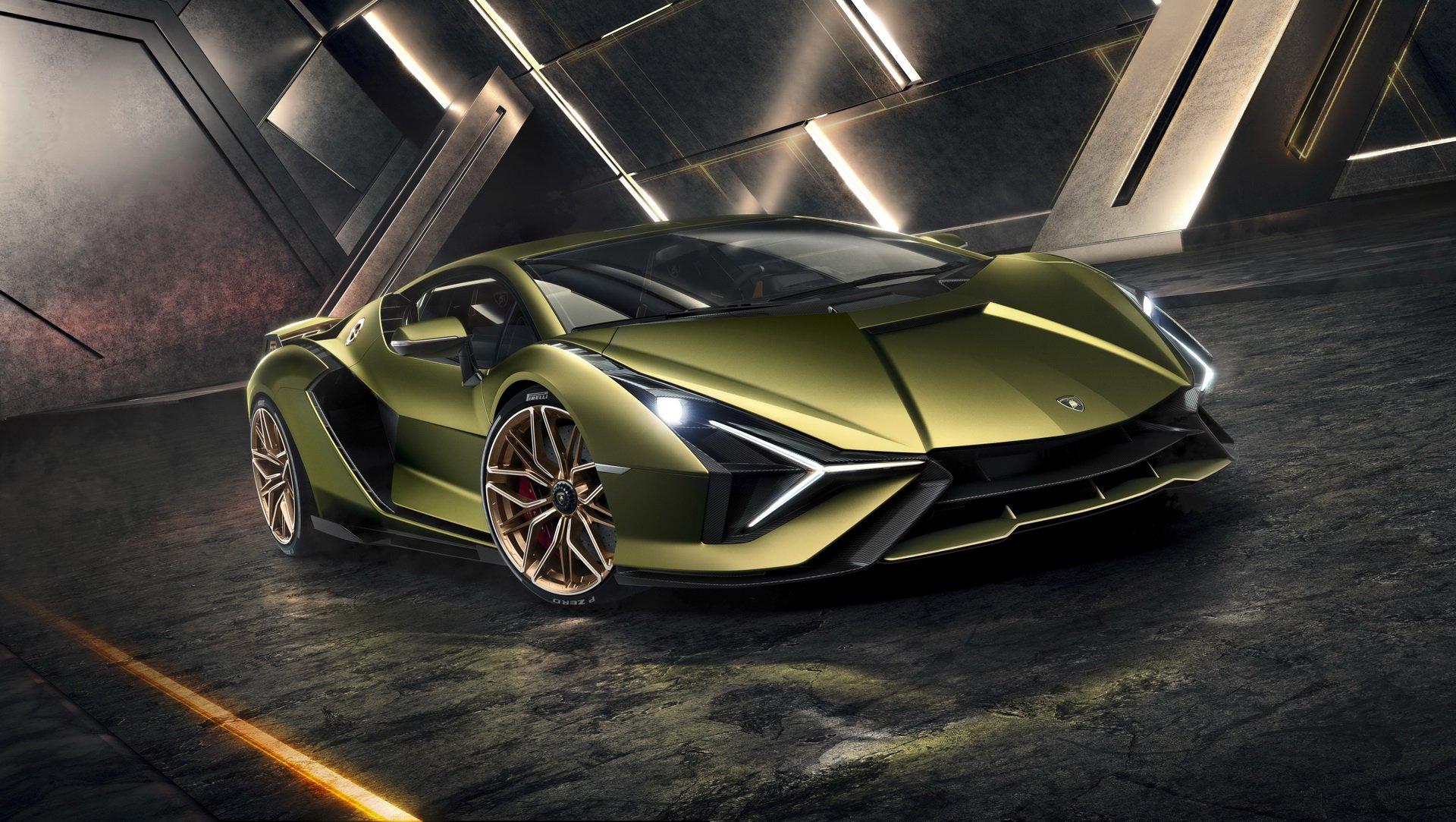 Lamborghini'nin hibrit süper otomobili Sian tanıtıldı: Gelmiş geçmiş en güçlü Lamborghini