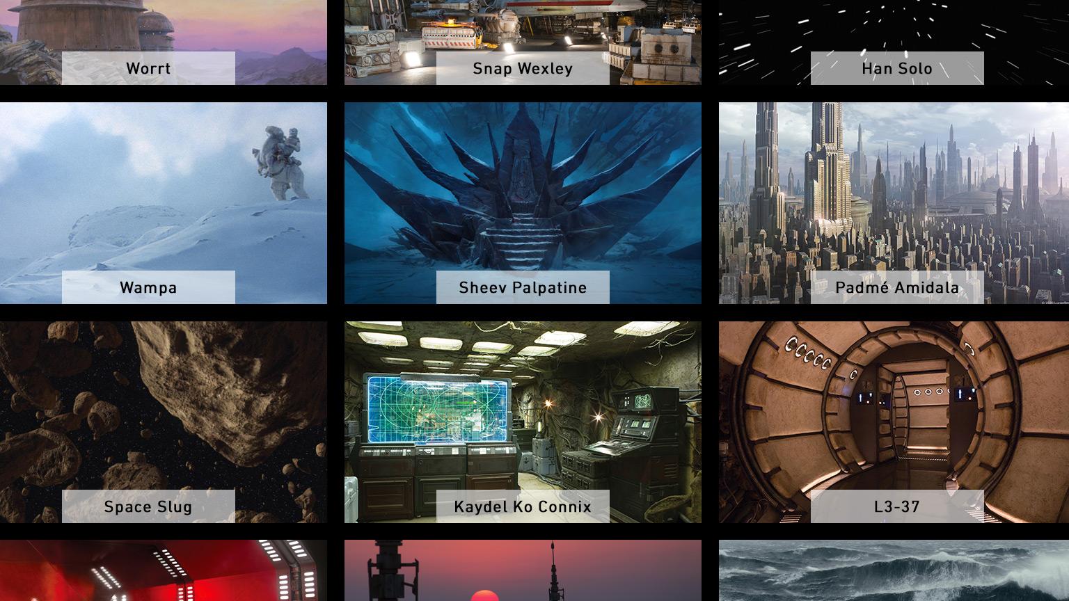 Video konferanslar için Star Wars arka plan resimleri