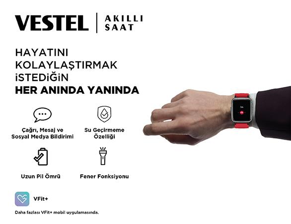 Vestel akıllı saat