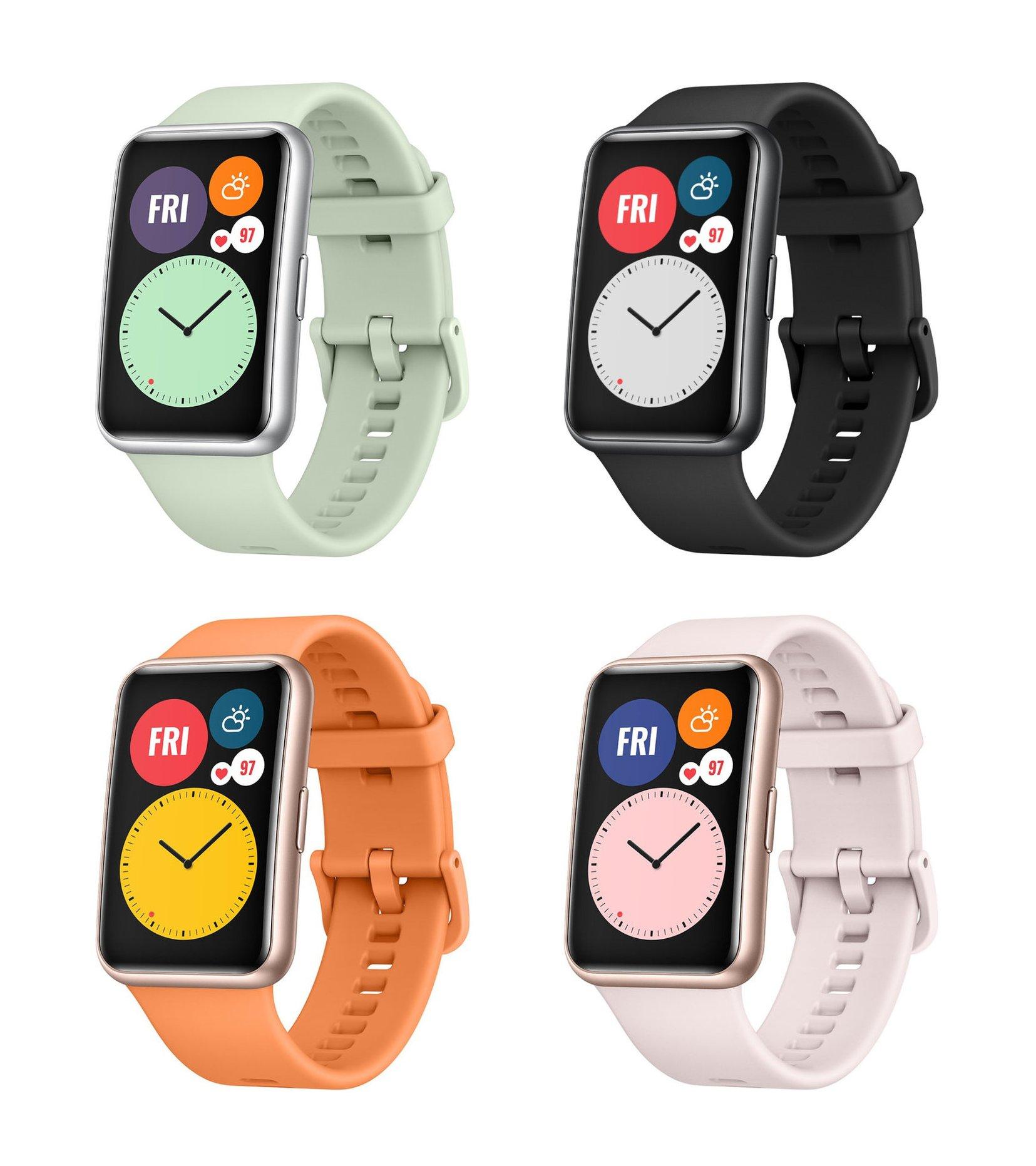 Huawei Watch Fit tasarımı