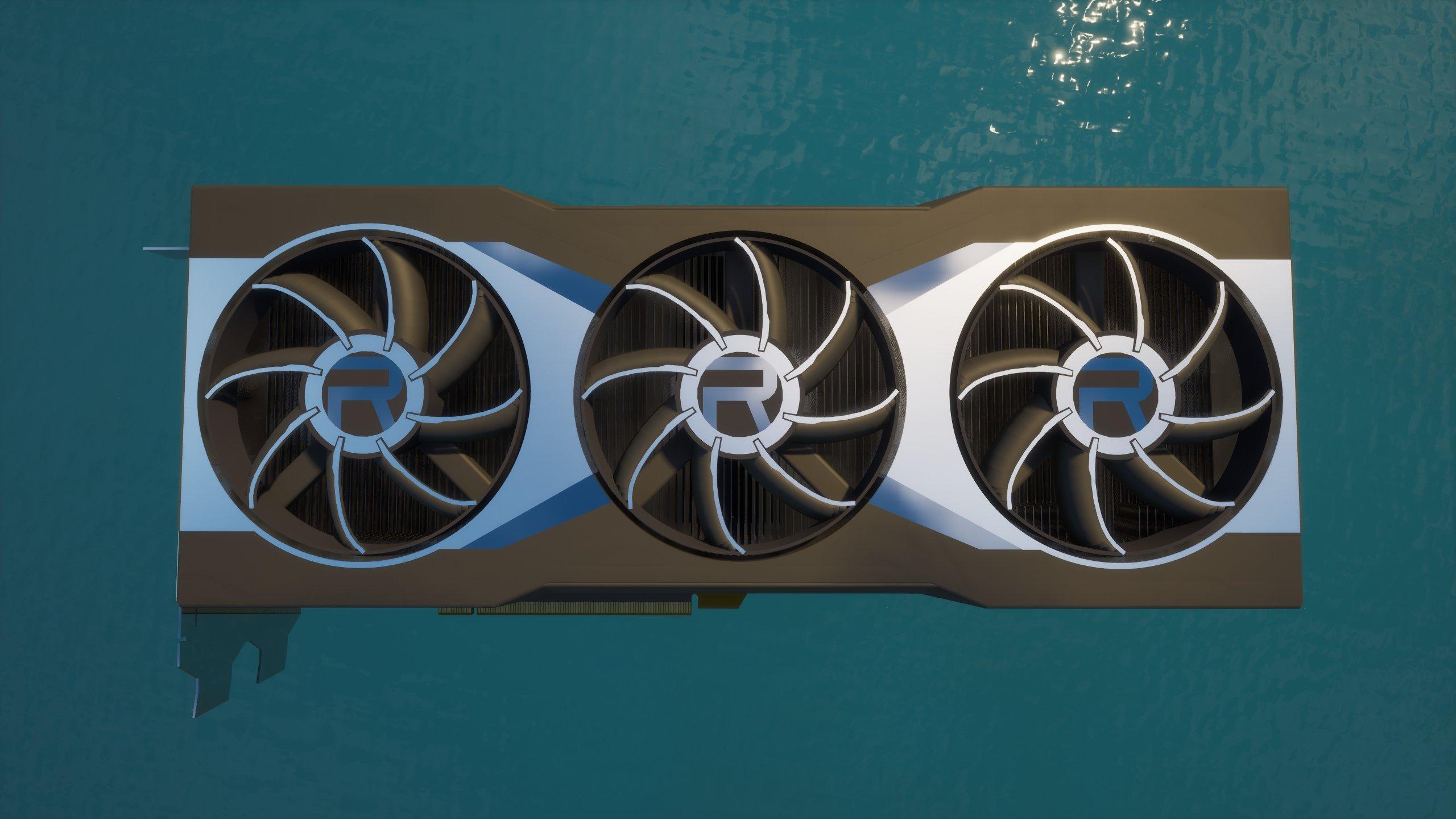 AMD Nvidia RX 6000 tasarımını paylaştı