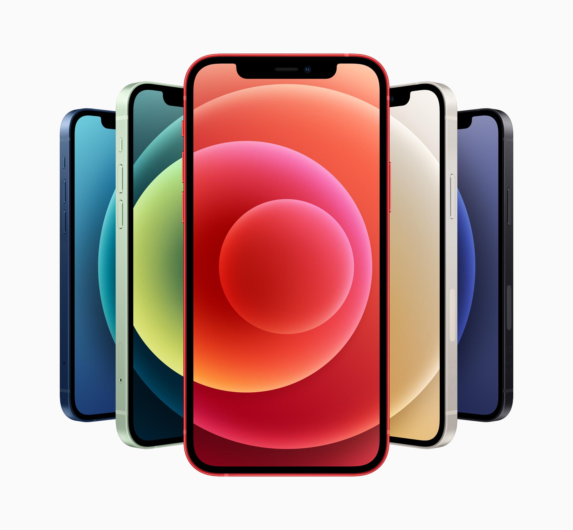 iPhone 12 ve iPhone 12 mini tüm ihtişamıyla karşınızda!