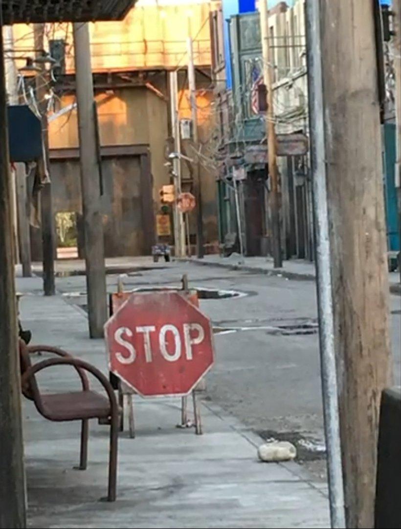 Merakla beklenen The Last of Us dizisinin setinden yeni görüntüler geldi