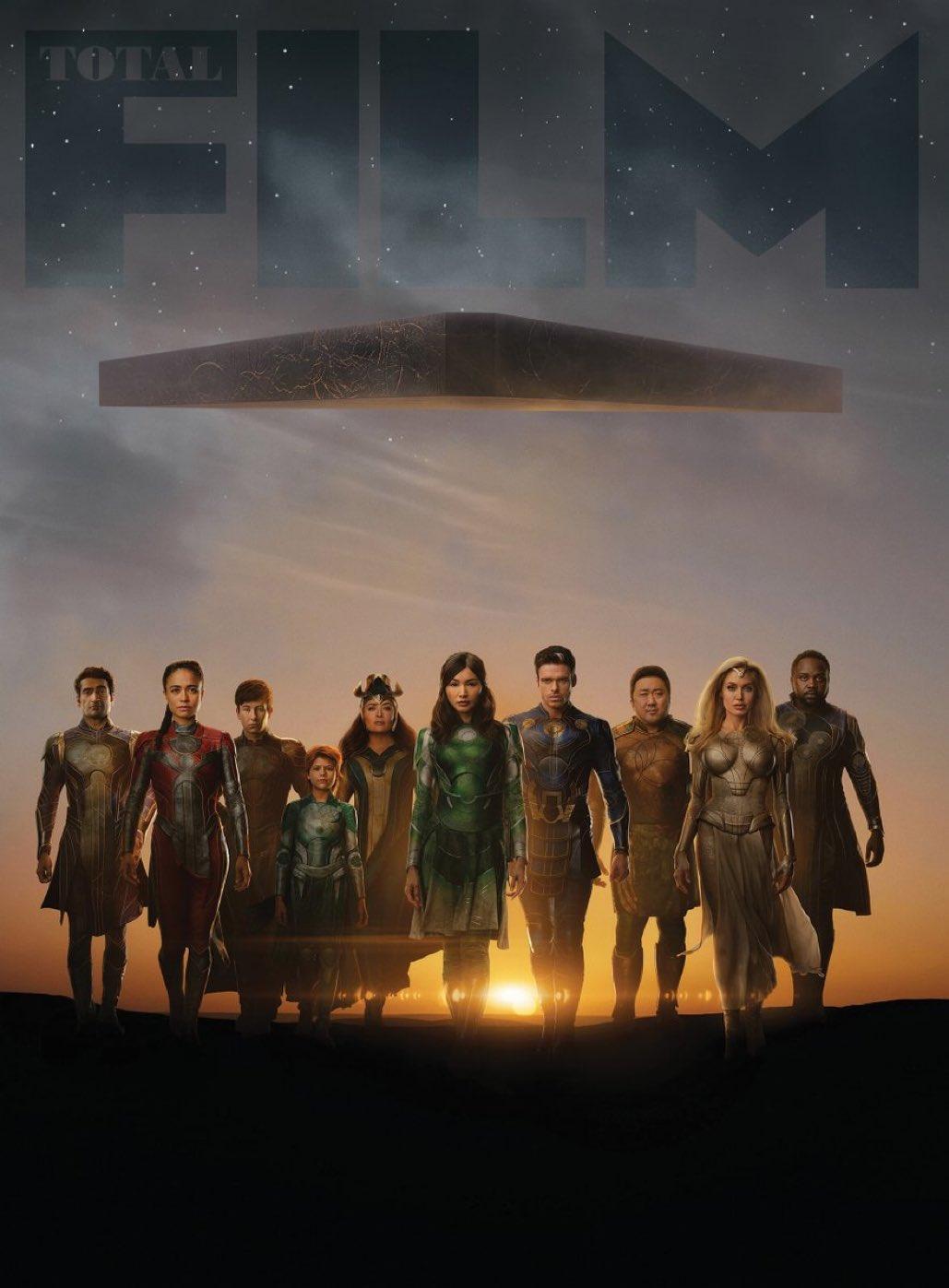 Marvel'ın yeni filmi Eternals'tan yeni görseller paylaşıldı