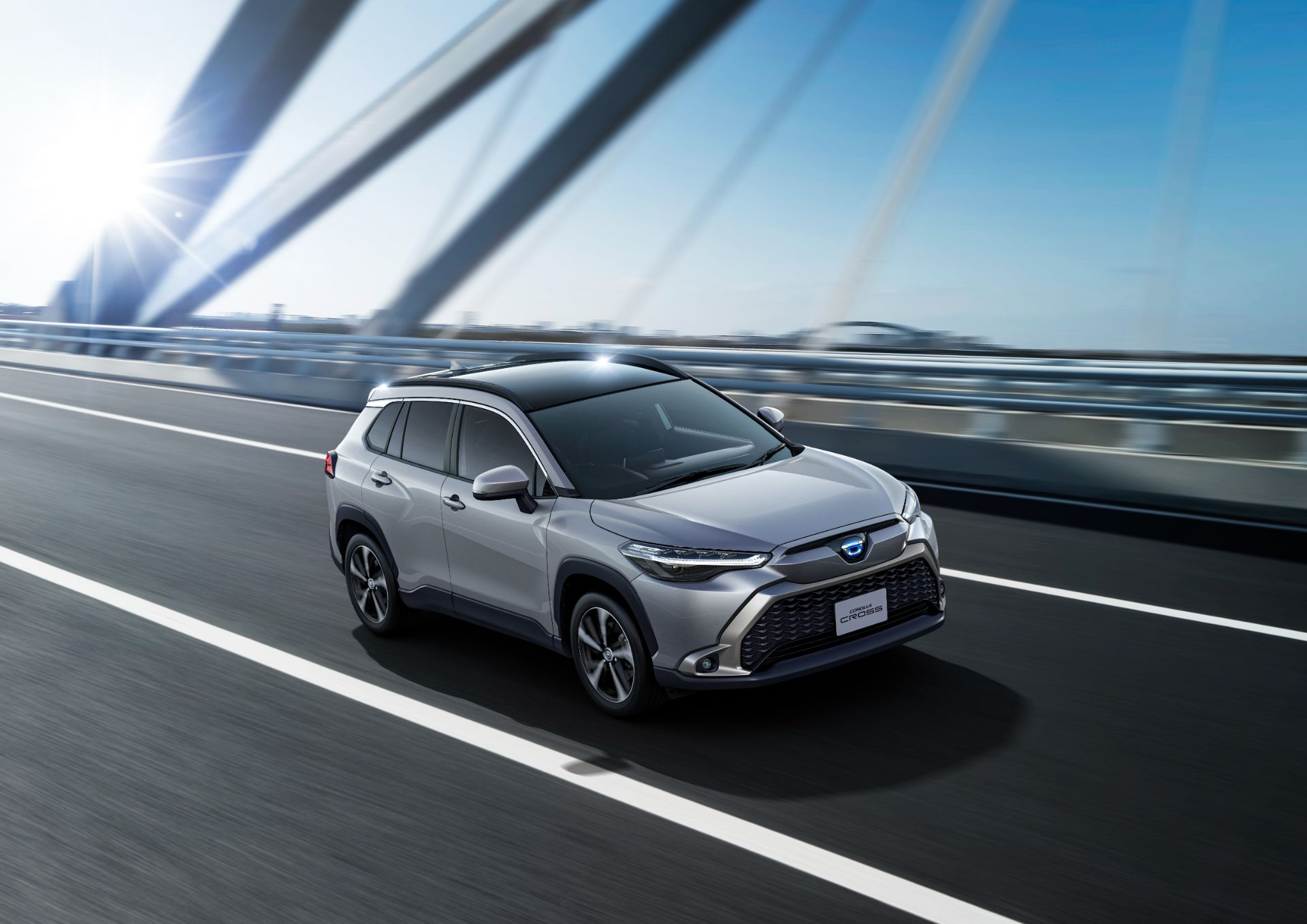 Toyota Corolla Cross'un Japonya versiyonu farklı yüzüyle tanıtıldı