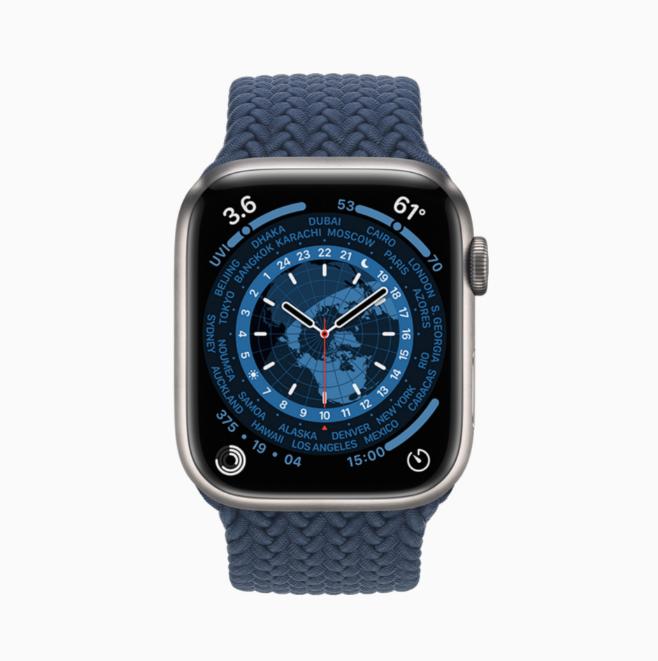 Büyük ekranlı yeni Apple Watch Series 7 tanıtıldı