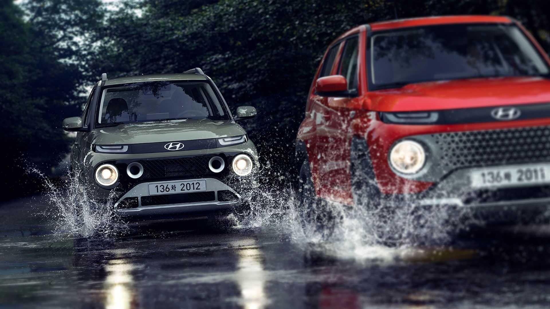 Yeni Hyundai Casper'ın iç mekanı ve özellikleri de ortaya çıktı