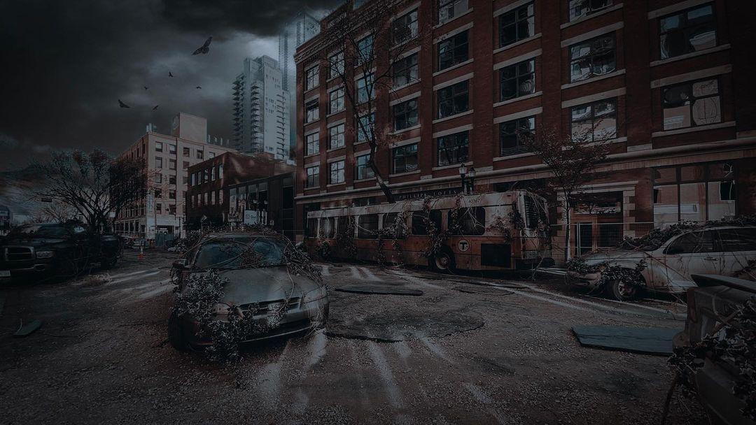 HBO dizisi The Last of Us'tan Joel'un olduğu set görselleri paylaşıldı