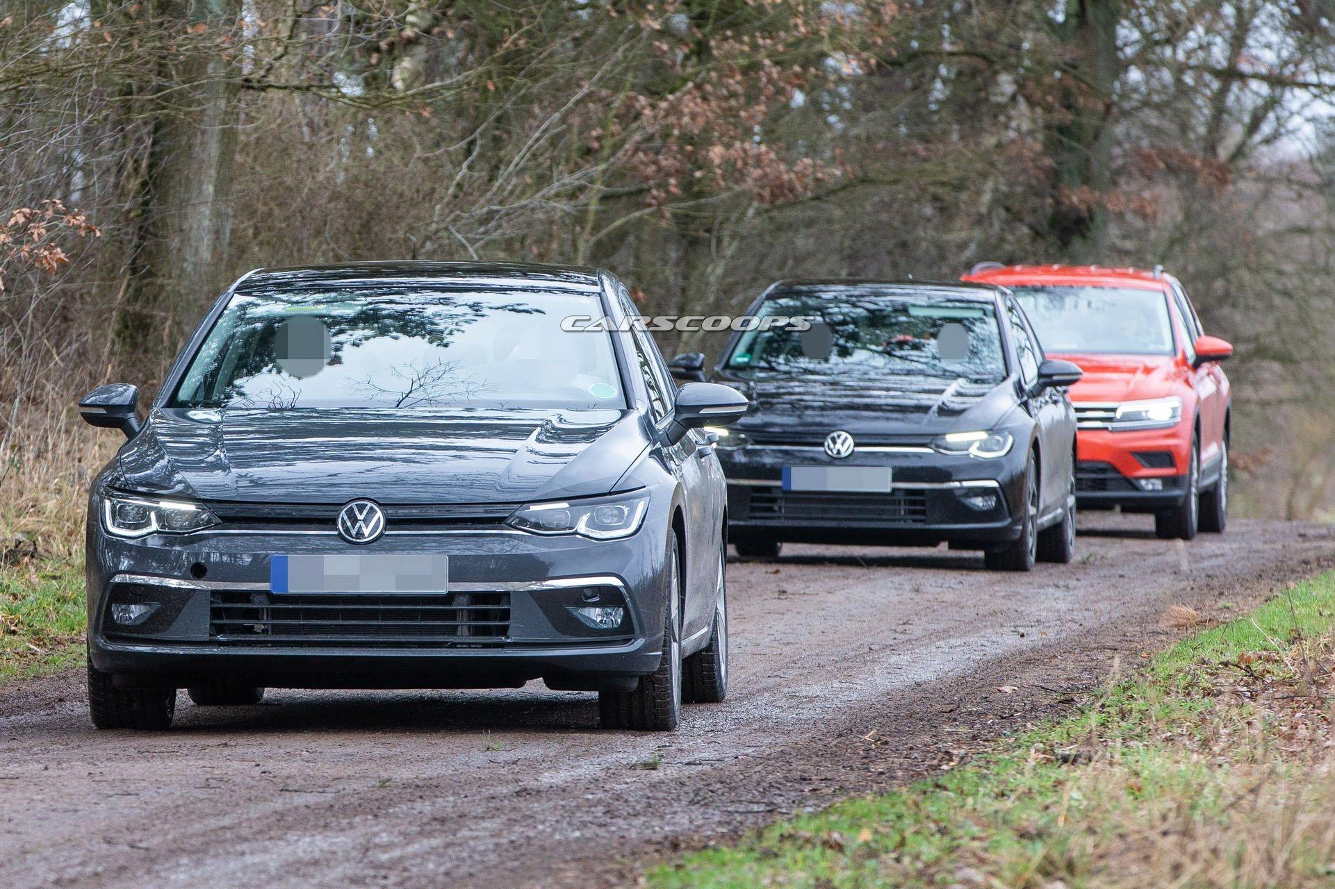2020 Volkswagen Golf (Mk8) yeni görüntülerle tamamen ortaya çıktı