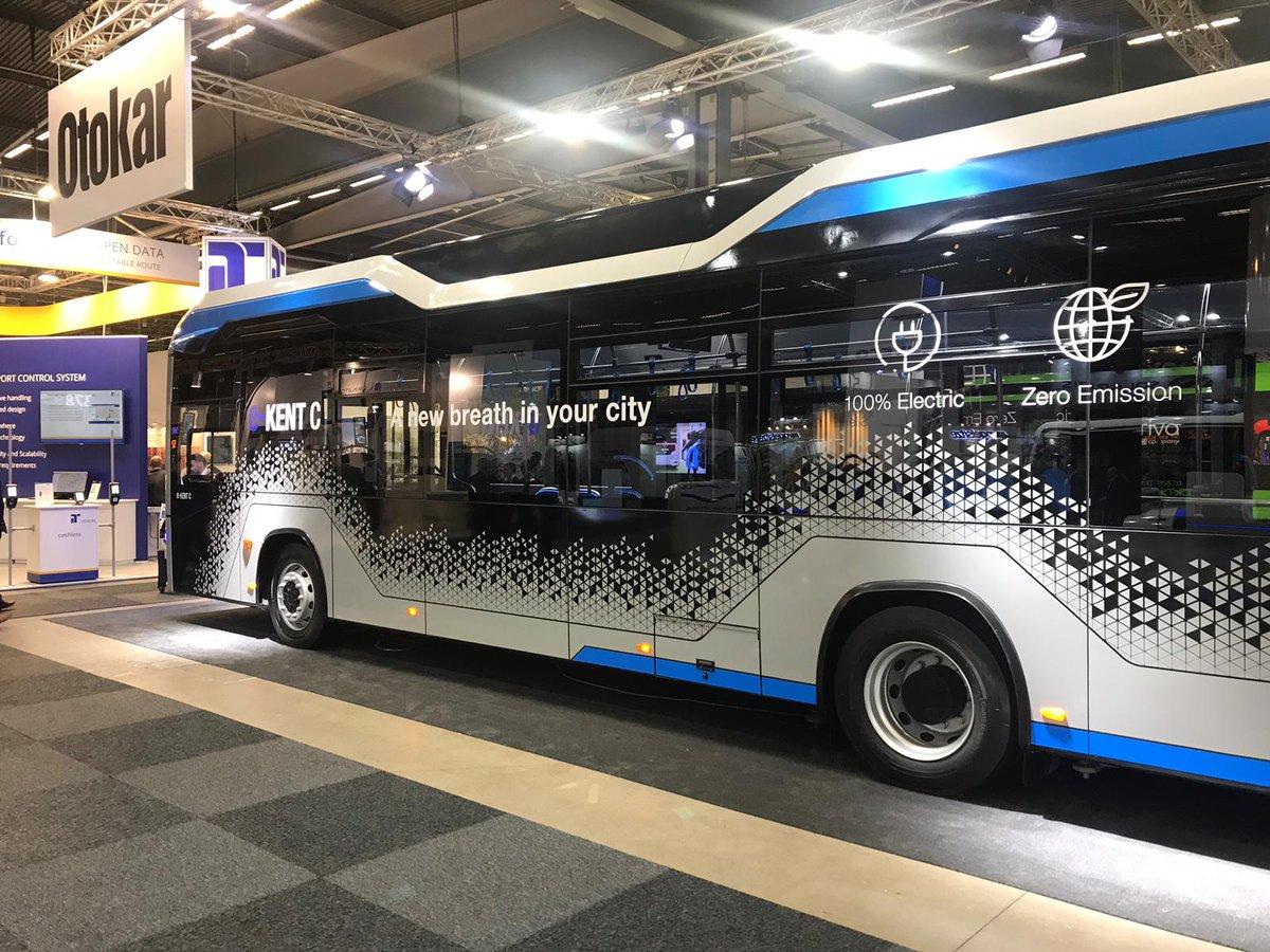 Otokar, 300 km menzilli yeni elektrikli otobüsü e-Kent C'yi tanıttı