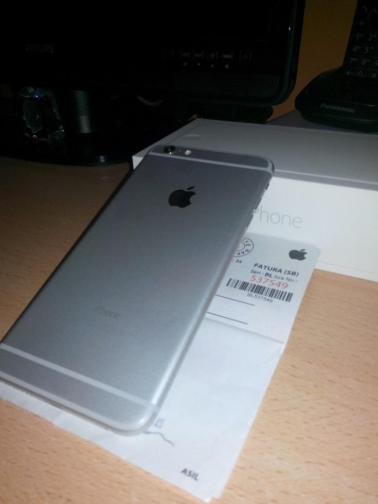Satılık Tertemiz Iphone 6 Plus 64gb Apple Store Türkiye Garantili