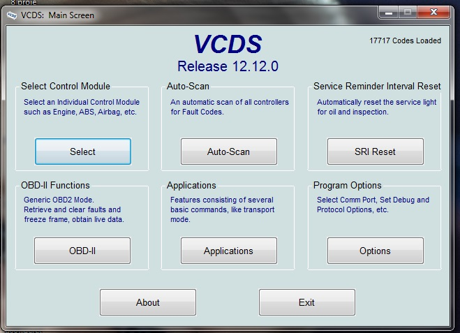 vag-com с адаптером hex-usb+can и предназначен для диагностики автомобилей vw, audi, seat, skoda и автомобилей