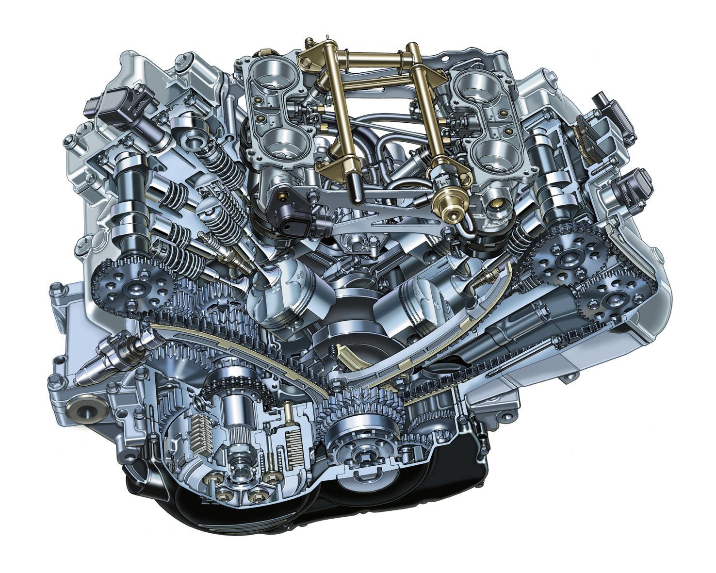 двигатель Хонда ВФР 800