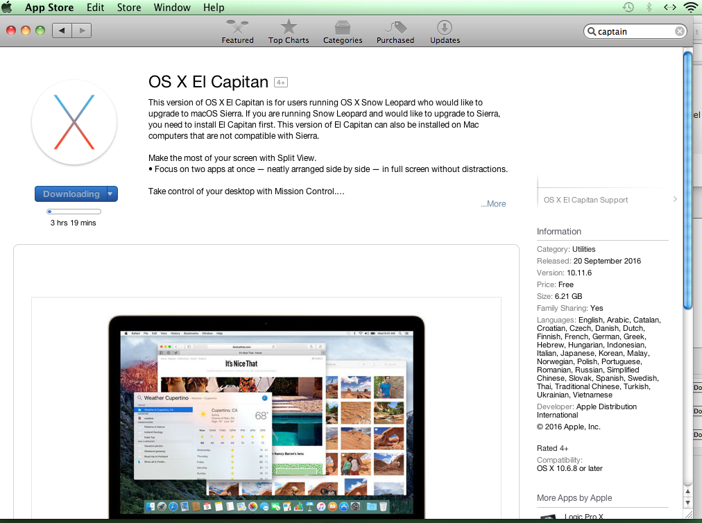 How to download and install old versions of OS X on a