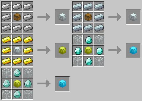 Как сделать прозрачный сундук в minecraft