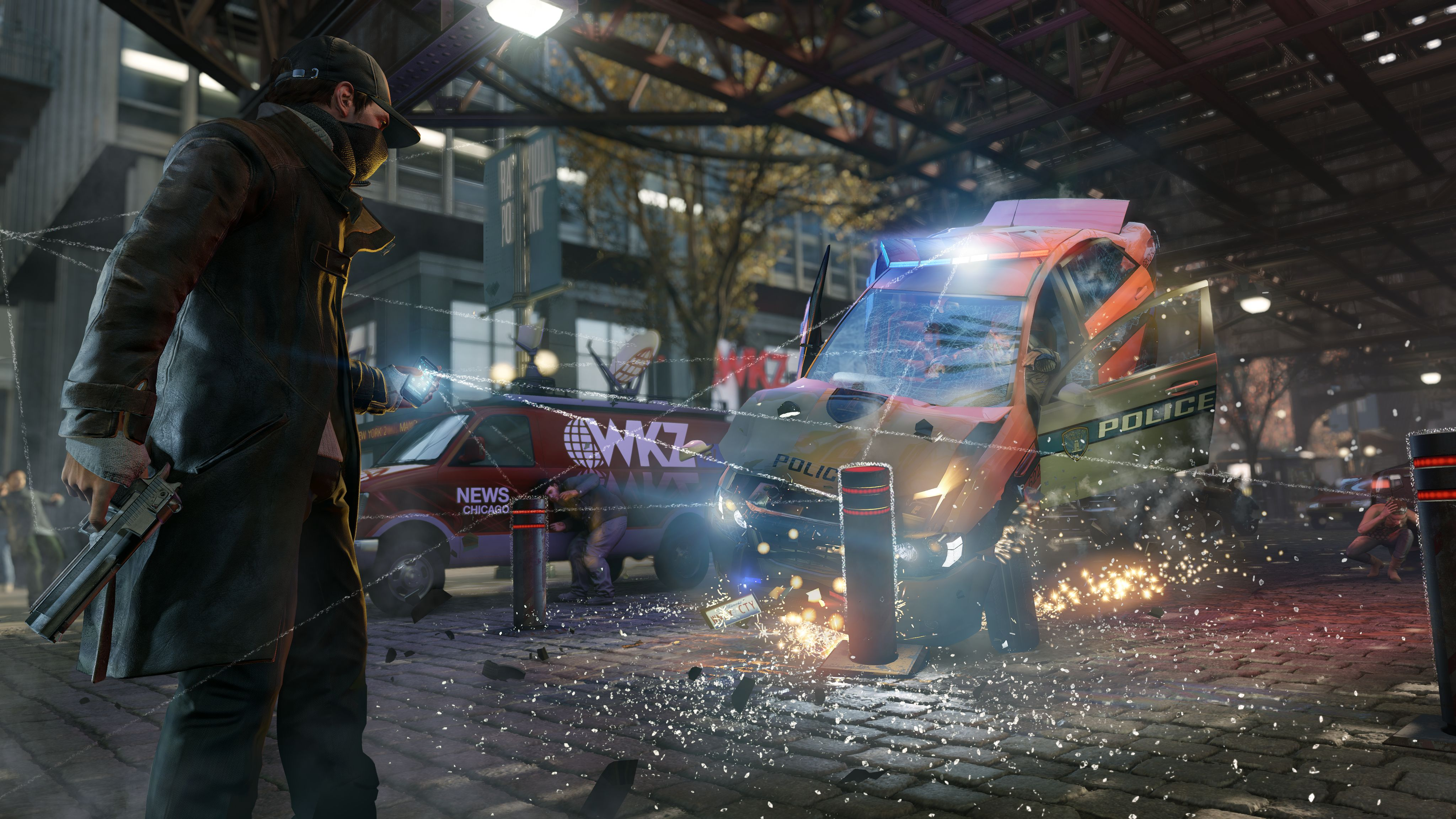 watch dogs wallpapers ps3
