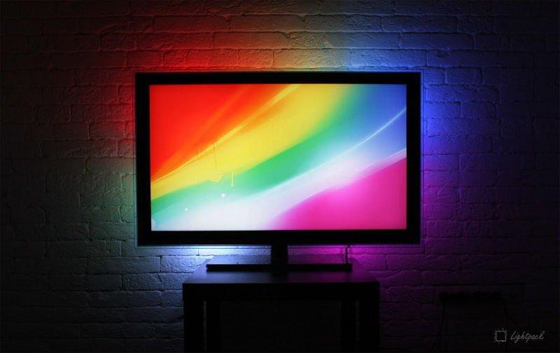 Эмбилайт для телевизора lg своими руками 46